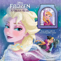 Image of Frozen: A Frozen Heart Storybook and Snowglobe # 1