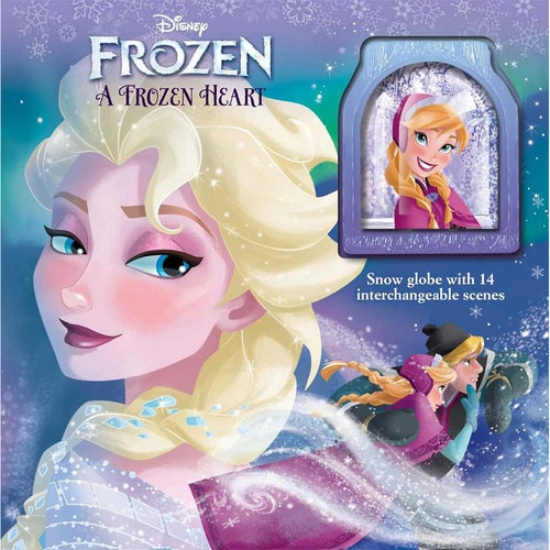 Frozen A Frozen Heart Storybook And Snowglobe Shopdisney