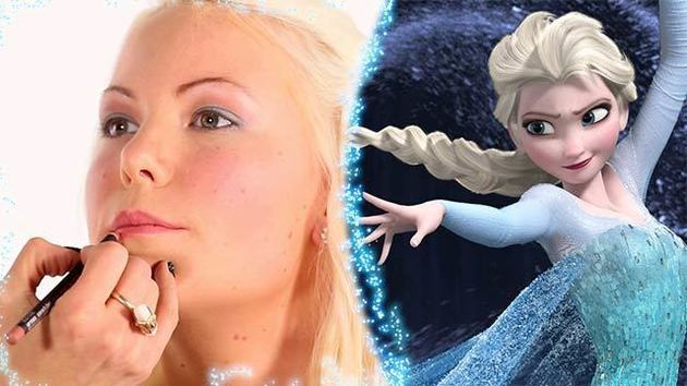 Frozen-Inspired DIY Makeup by Cindy Miguens