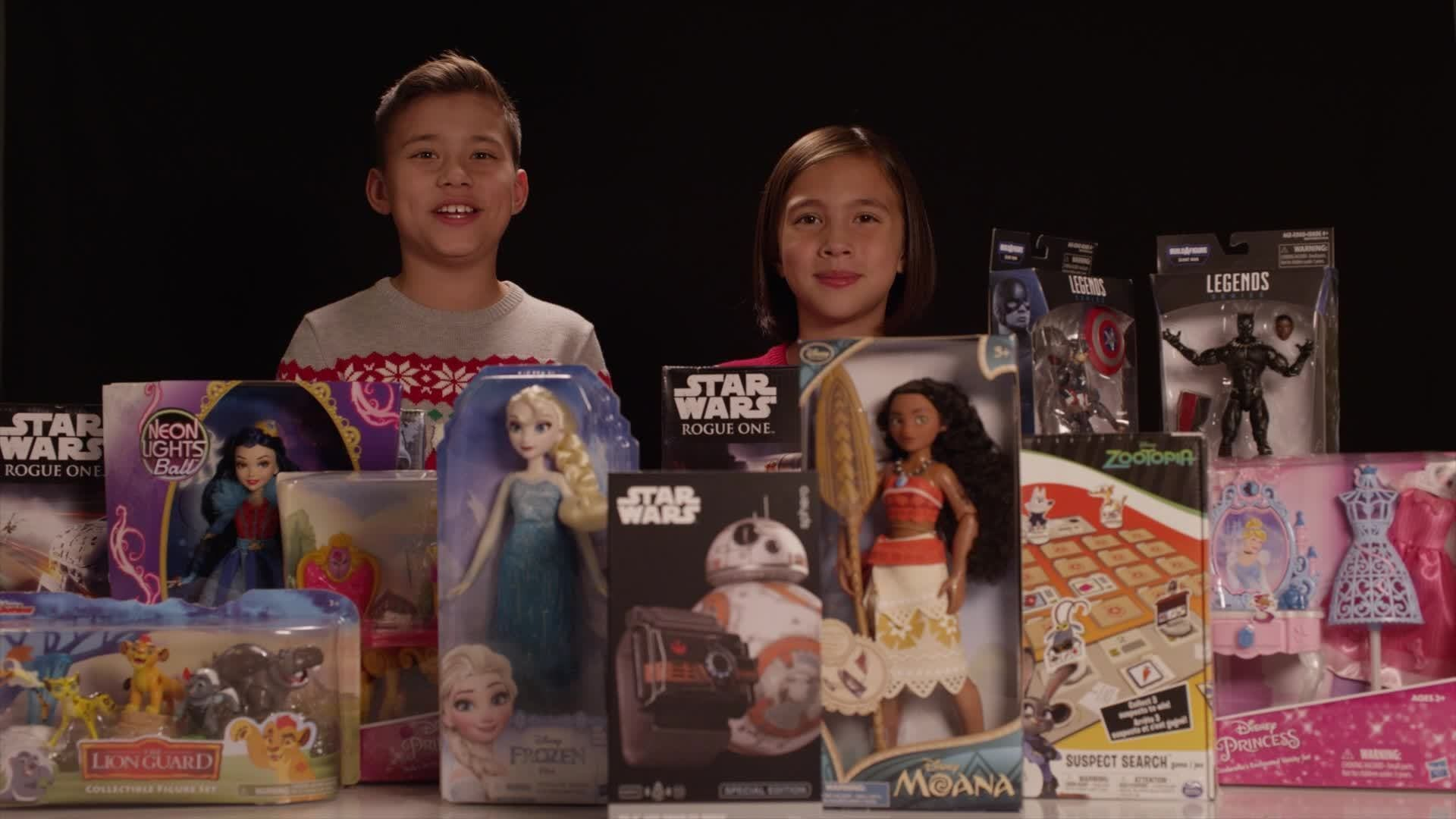 The EvanTube Family Share The Joy with Disney and Toys for Tots