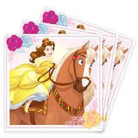 Image of Beauty and the Beast Beverage Napkins # 1