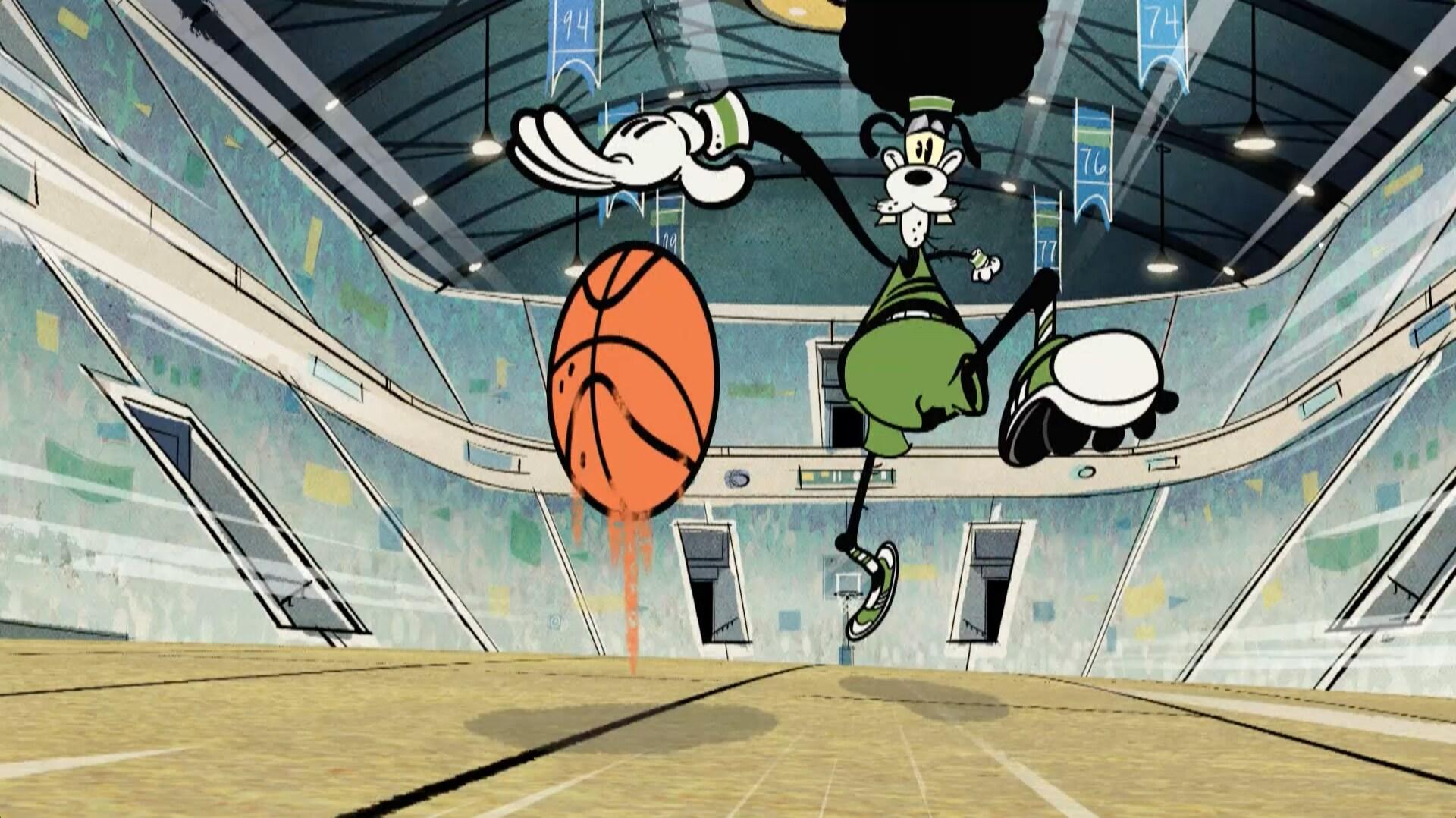 """""""Espírito esportivo"""" - Mickey Mouse"""