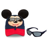 Image of Mickey Mouse Baseball Cap for Toddlers with Sunglasses # 2