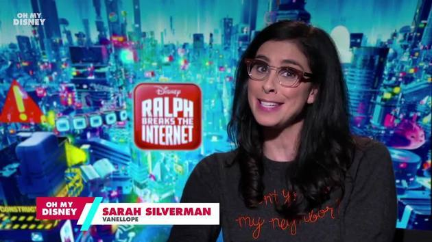 Sarah Silverman Takes the Oh My Disney Quiz: Which Disney Princess Are You?  | Oh My Disney
