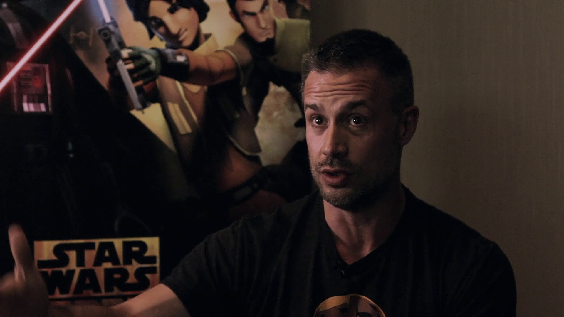 Feelin' the Force with Freddie Prinze, Jr. - Disney Insider