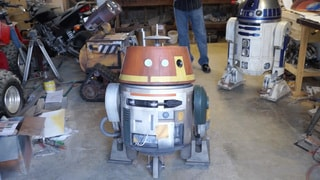 Droid Design: Chopper from Star Wars Rebels Comes to Life