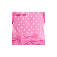 Minnie Mouse Pink Costume Bodysuit for Baby - Personalizable