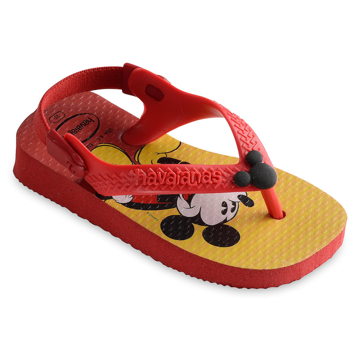 d8b95df2351b Product Image of Mickey Mouse Flip Flops for Baby by Havaianas   1