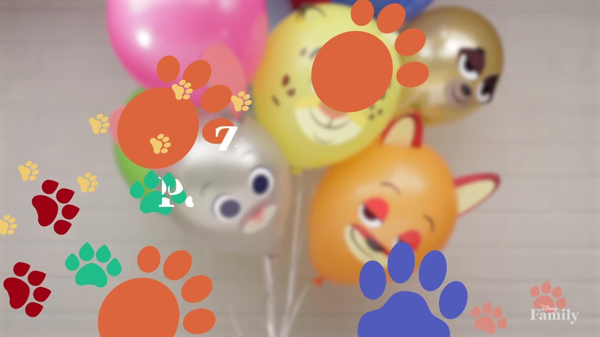 Disney Family: Zootopia Party Balloons
