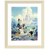 Image of ''Mickey and Minnie Wedding'' Giclée by Randy Souders # 5