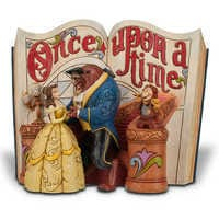 Image of Beauty and the Beast Story Book Figurine by Jim Shore # 1