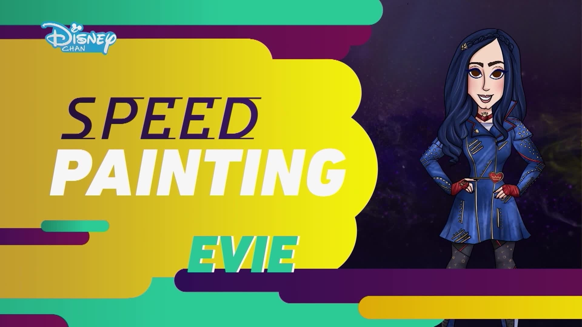 Os Descendentes 2: Speed Painting - O Estilo de Evie