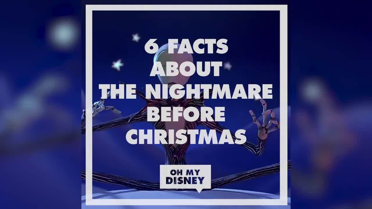 The Nightmare Before Christmas Facts | Oh My Disney | Disney Video