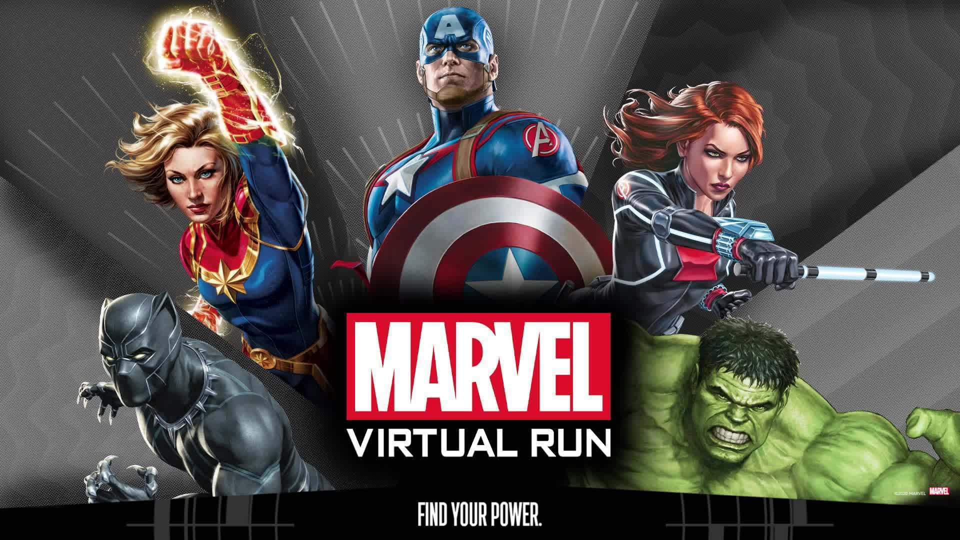 Marvel Virtual Run Instructions