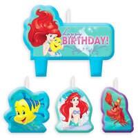Ariel Birthday Candle Set