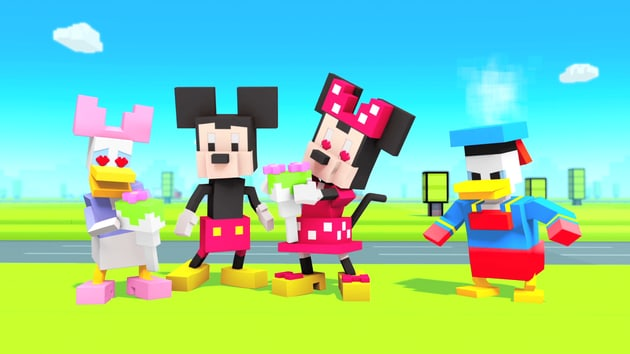Rose Run | Disney Crossy Road