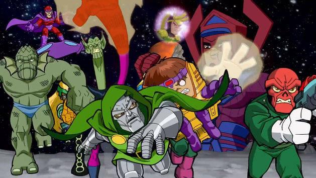 Intro - El escuadrón de superhéroes