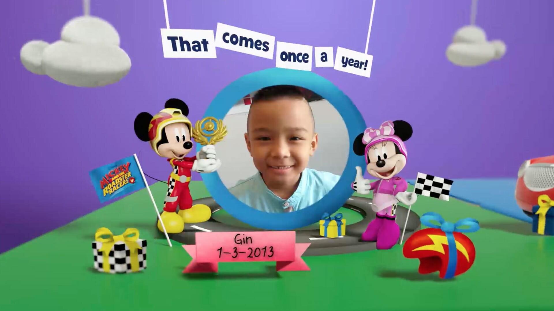 Disney Junior สมุดอวยพรวันเกิดเดือนมีนาคม 2563 Album 10