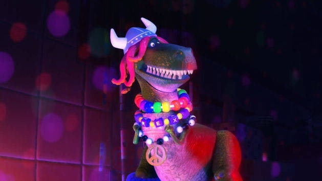 Toy Story Toons - Rex party