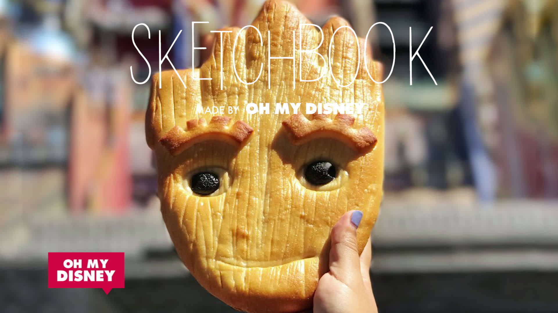 Tiny Food Groot Bread | Sketchbook by Oh My Disney