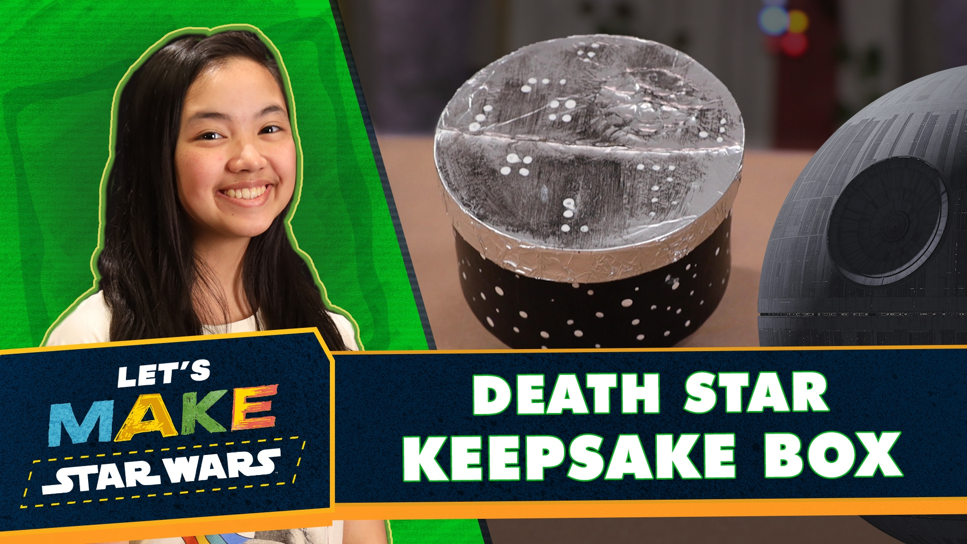 Let's Make Star Wars - How to Make a Death Star Keepsake Box