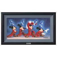 Image of ''The Sorcerer's Spell'' Giclée on Canvas by Michelle St.Laurent - Limited Edition # 1