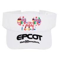 Epcot Logo Visor for Adults - Walt Disney World