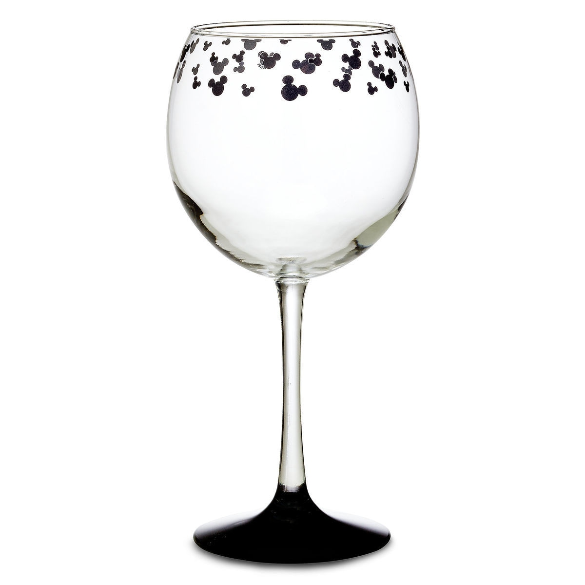 Mickey Mouse Icon Stemmed Glass - Red Wine | shopDisney