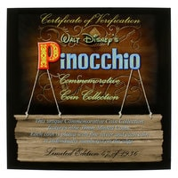 Pinocchio Limited Edition Commemorative Coin Collection