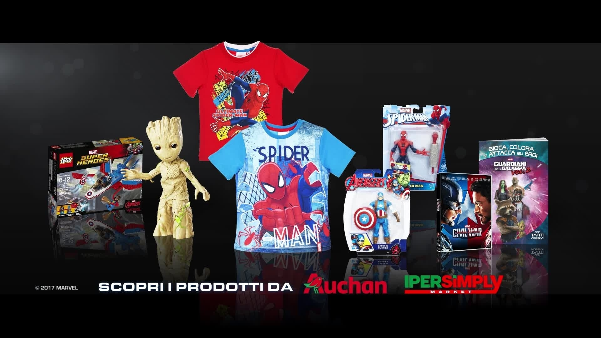 Bring Marvel Home - Auchan