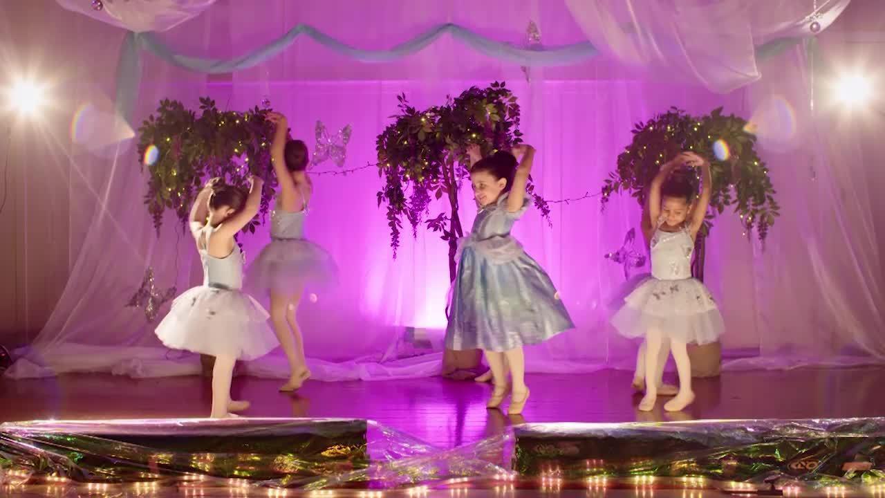 Cinderella Dance Tutorial   Tiny Tutus Preschool Ballet