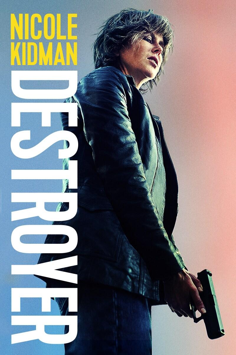 Destroyer staring Nicole Kidman movie poster