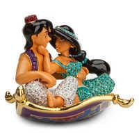 Image of Aladdin and Jasmine Figurine by Arribas # 1