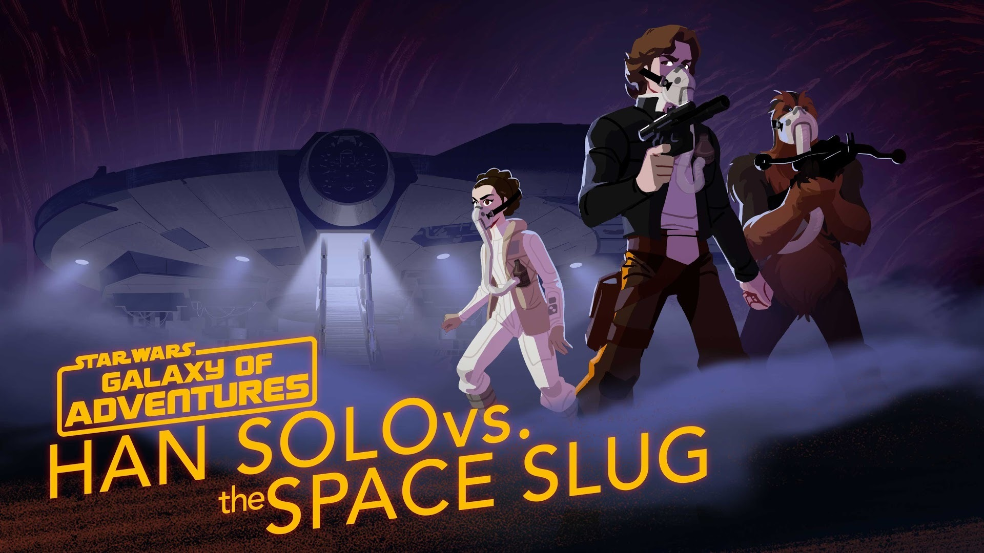 Han Solo vs. the Space Slug - The Escape Artist | Star Wars Galaxy of Adventures