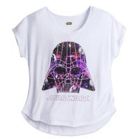 Darth Vader Sparkle Tee for Women