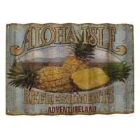 Image of Aloha Isle Refreshments Wall Sign - Walt Disney World # 1