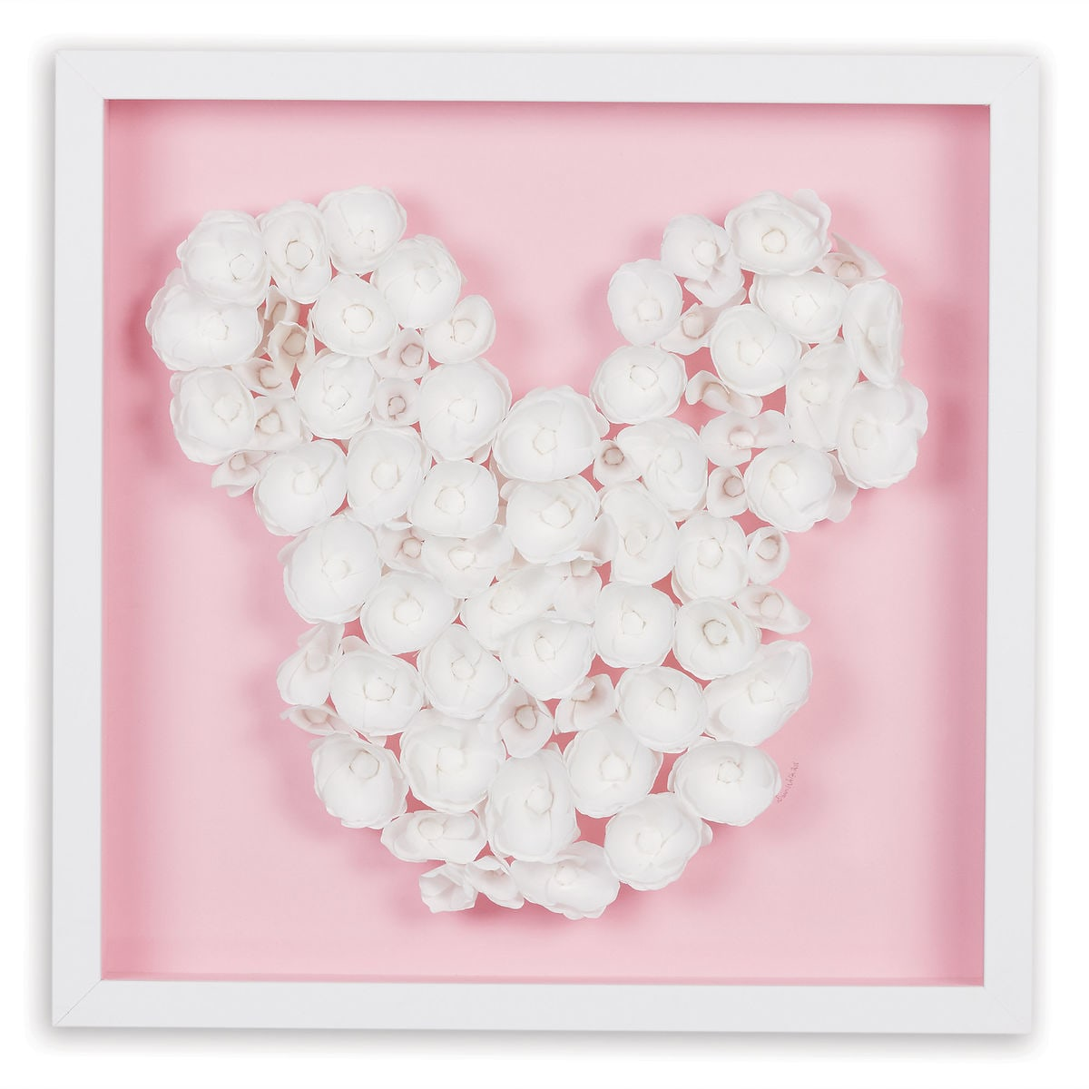 Mickey Mouse \'\'Blossom Garden Paper Art\'\' by Ethan Allen - Framed ...