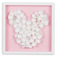 Mickey Mouse ''Blossom Garden Paper Art'' by Ethan Allen - Framed