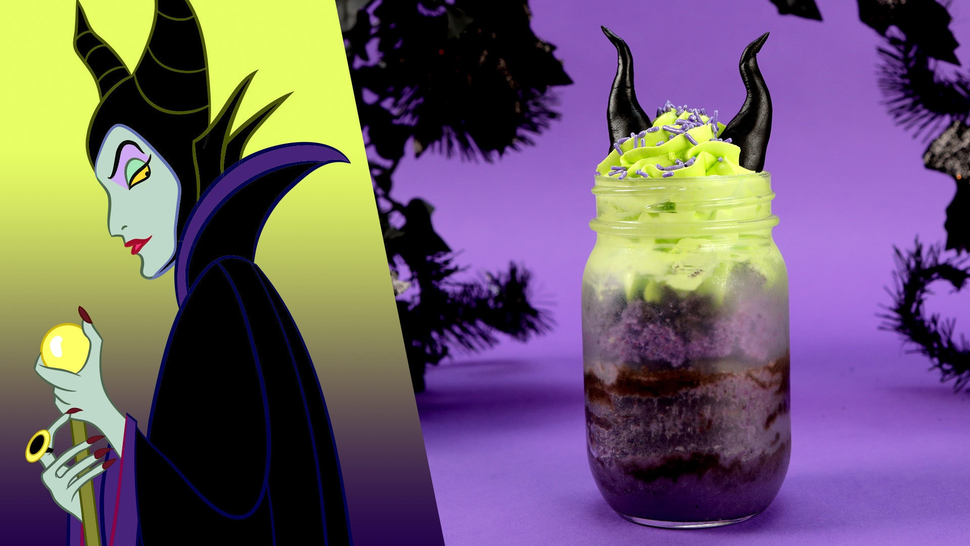 Maleficent Cake Jars | Disney Family