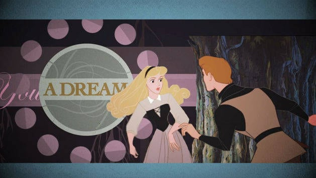 Sleeping Beauty-oke 'Once Upon a Dream'