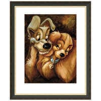 Image of ''Lady and the Tramp'' Giclée by Darren Wilson # 3