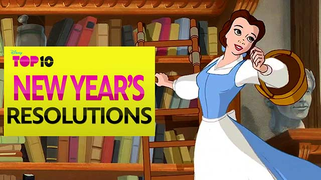 New Yearu0027s Resolutions   Disney Top 10