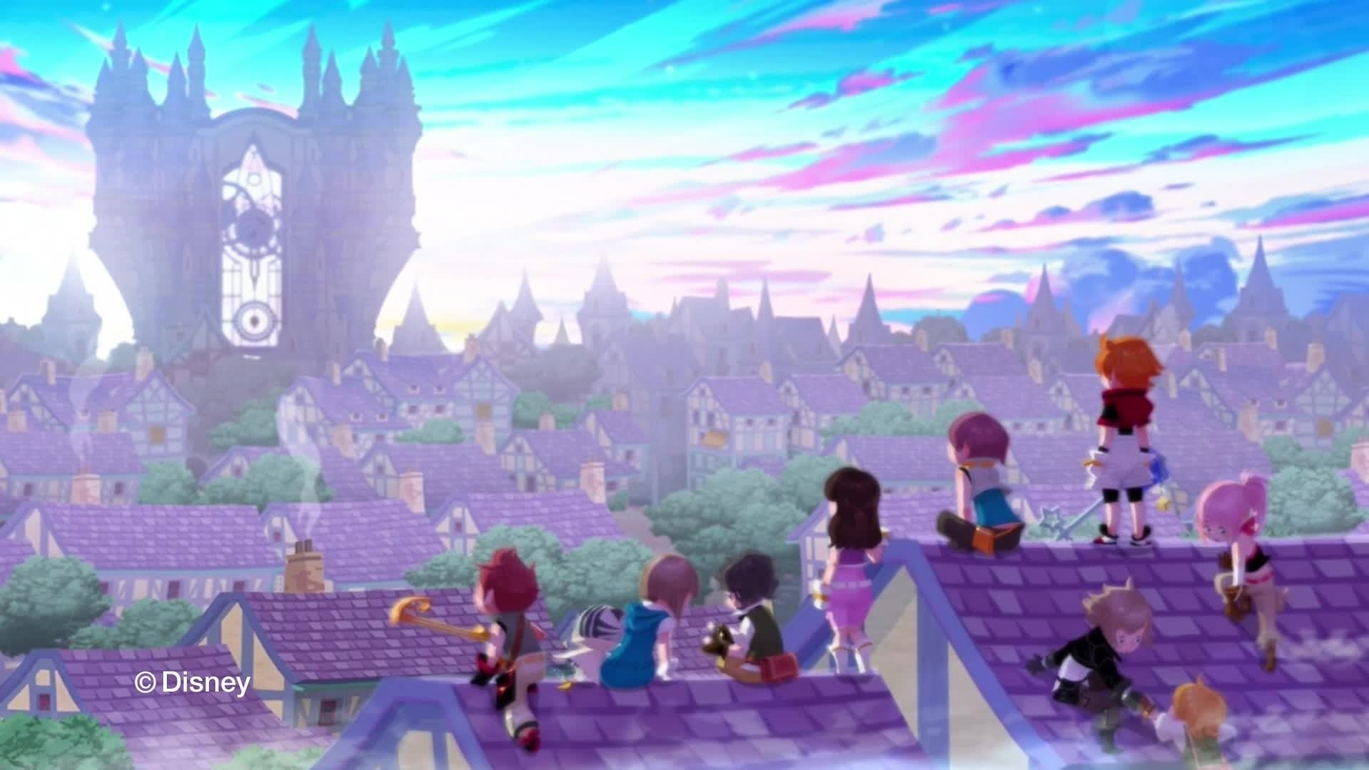Kingdom Hearts Unchained χ - Trailer
