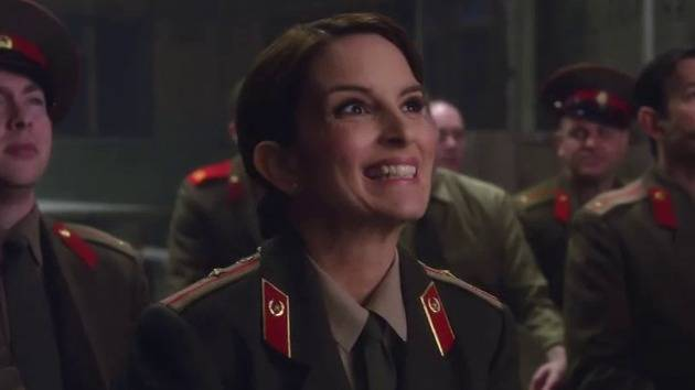 Tina Fey Bloopers - Muppets Most Wanted BTS