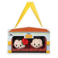 Image of Mickey and Minnie Mouse ''Tsum Tsum'' Plush Set - Mini - 3 1/2'' - Spain # 3
