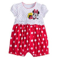 Image of Minnie Mouse Bubble Bodysuit for Girls # 1