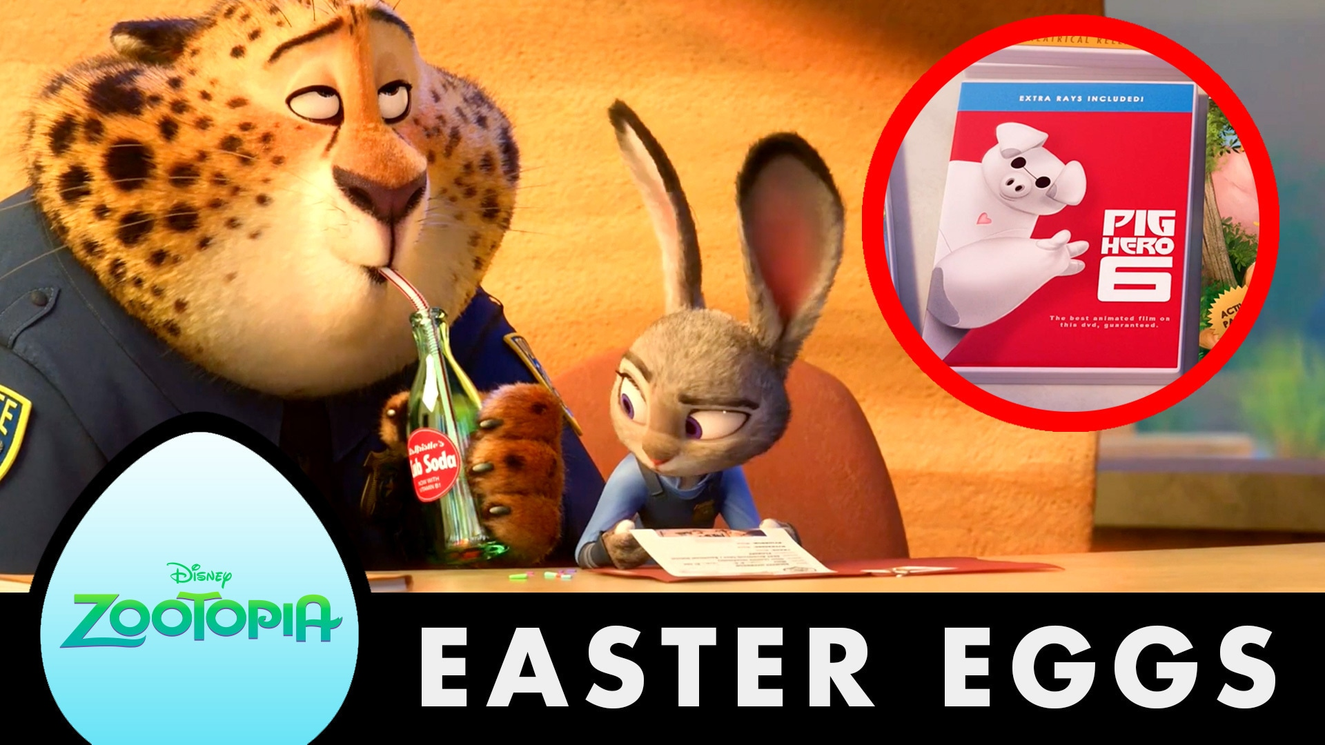Zootopia | 10 Awesome Hidden Secrets and Easter Eggs