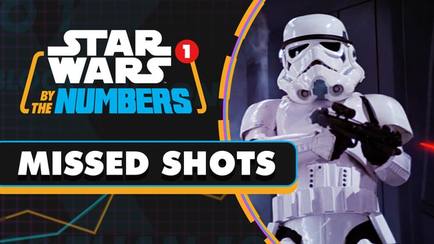 Every Stormtrooper Blaster Shot in the Death Star Escape | Star Wars By the Numbers