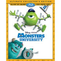Image of Monsters University 4-Disc Ultimate Collector's Edition # 1