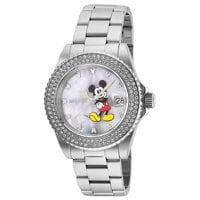 Mickey Mouse Watch for Women by INVICTA - Steel - Limited Edition
